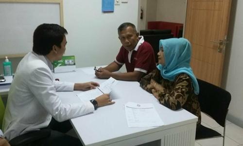 Pilkada Padang 2018, Bapaslon Pasutri Jalani Pemeriksaan Kesehatan