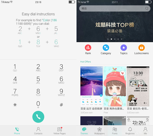 ColorOS for Yureka - Screenshot 2