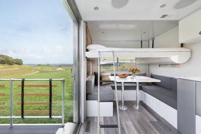 Giant Off-Grid Tiny House Solar Power Luxury Trailer