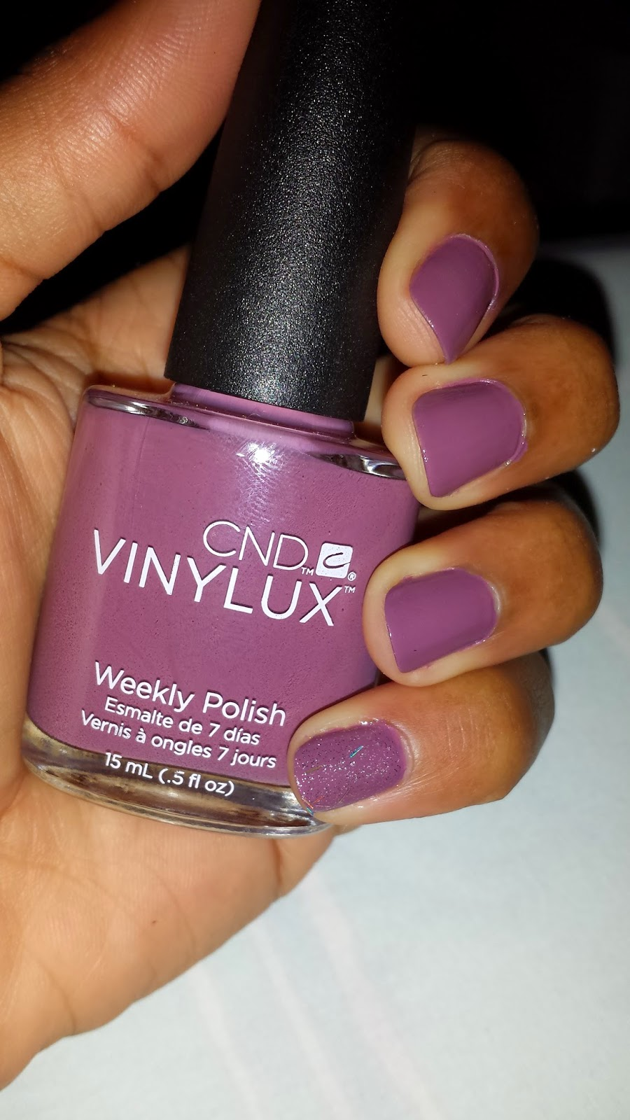 CND Vinylux 'Married To The Mauve' - www.modenmakeup.com