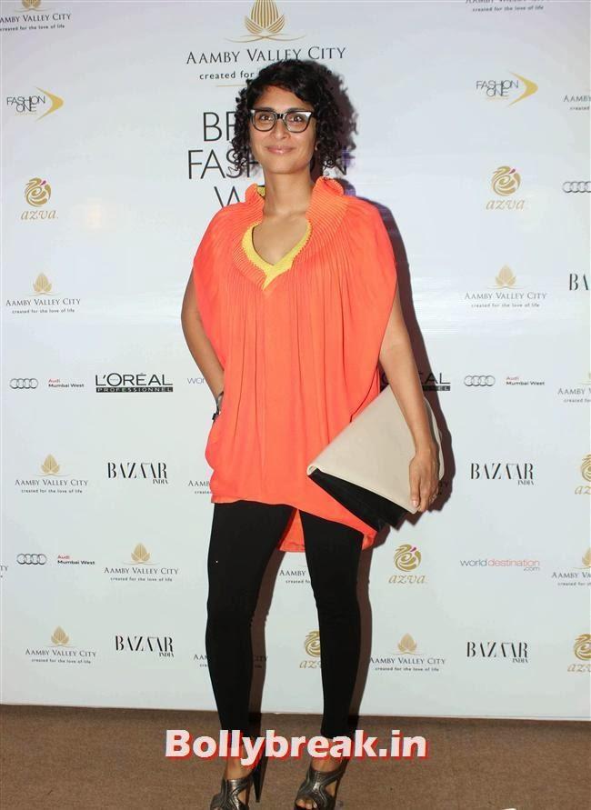 Kiran Rao, Bollywood Celebs at India Bridal Fashion Week
