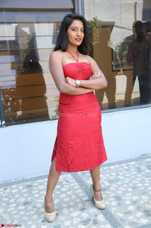 Mamatha sizzles in red Gown at Katrina Karina Madhyalo Kamal Haasan movie Launch event 092.JPG
