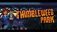 Thimbleweed Park Game Logo