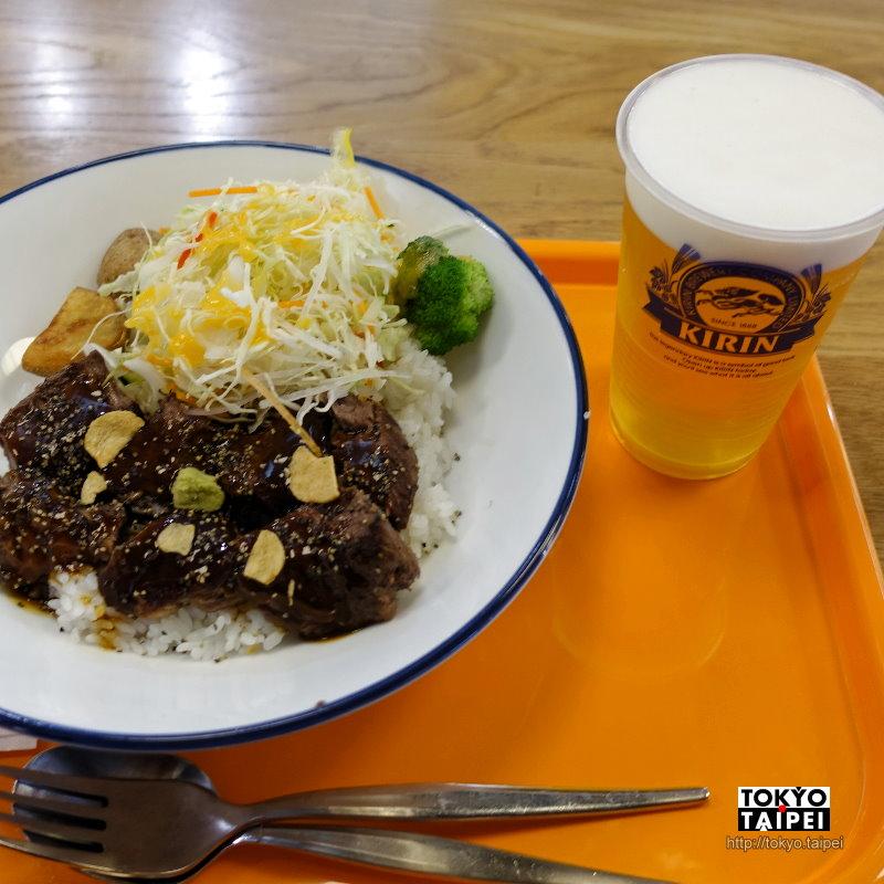 【洋丼屋ONE BOWL】離開東京前 用牛排丼填飽自己的胃