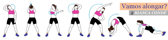 Dicas de Alongamento : exercícios físicos