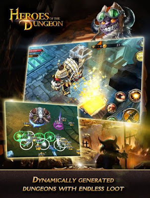 Heroes Of The Dungeon Apk 4.0.1 Mod [No Skill CoolDown and more]