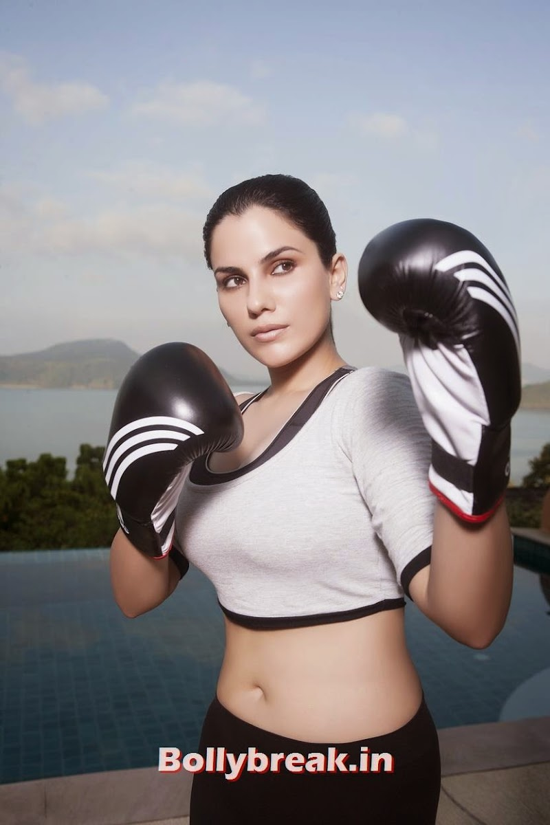 Kashish likes to do Boxing to keep herself Fit