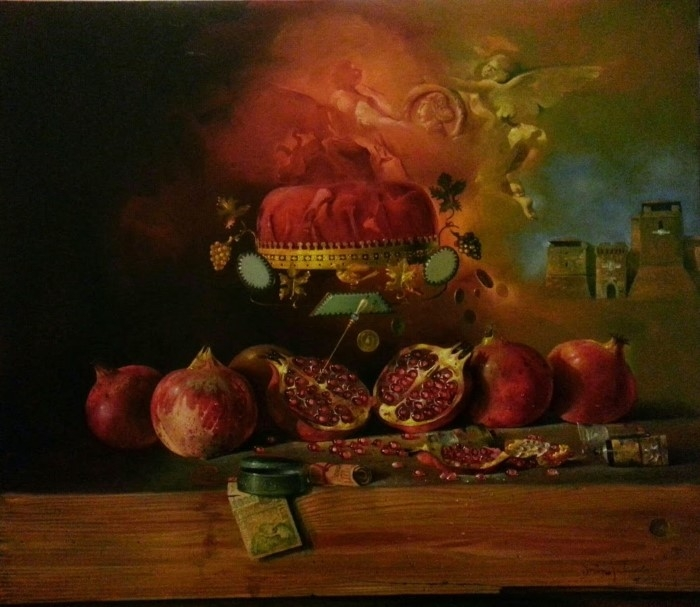 Сербский художник-реалист. Dusan Jovanovic 9