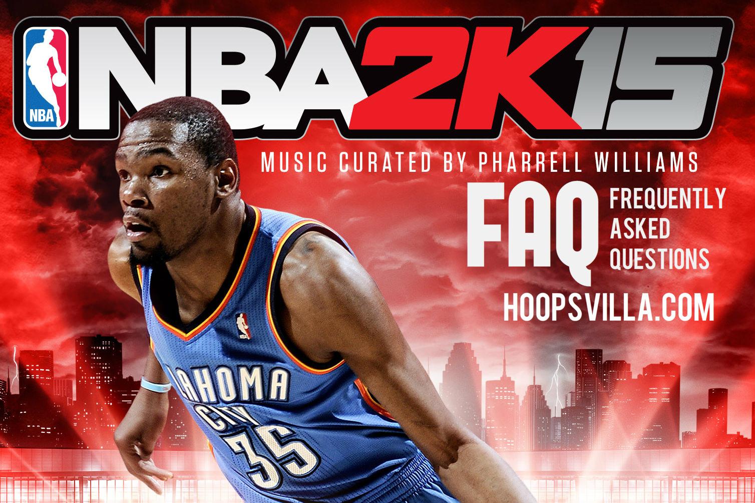 NBA 2k15 faq bugs tips gameplay mods mycareer hoopsvilla