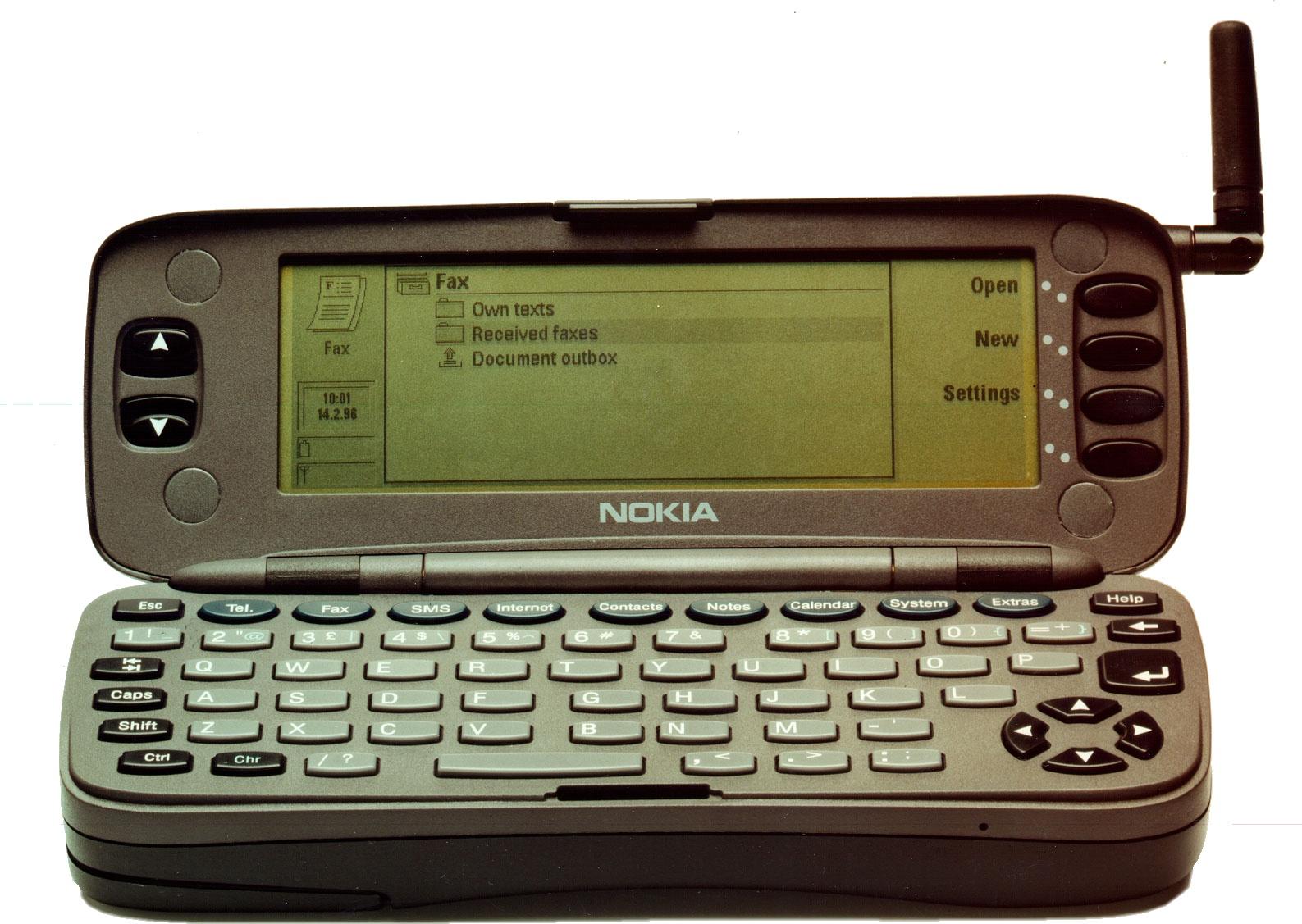 9000 Communicator - description and parameters