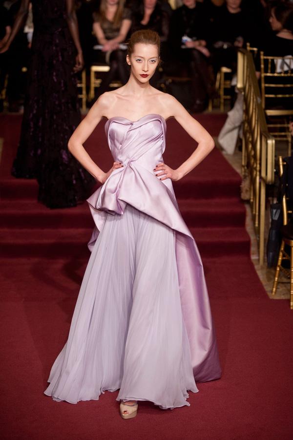 New York Designer Fashion: Fashion Designer Zac Posen - New York Fall 2013