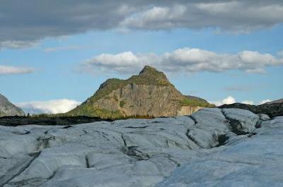 Paisaje glaciar en Alaska