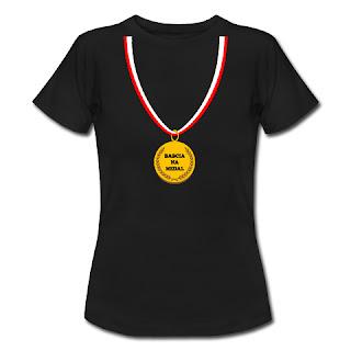 Koszulka Babcia na medal