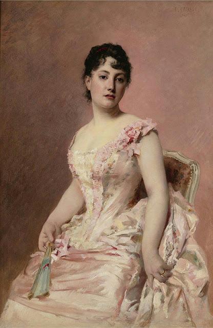 Edouard Cabane (1857-1942) - Леди в розовом