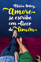 Resultado de imagen de portada de amor se escribe con licor de limon