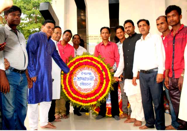 established Shaheed Minar at the initiative of Union Parishad