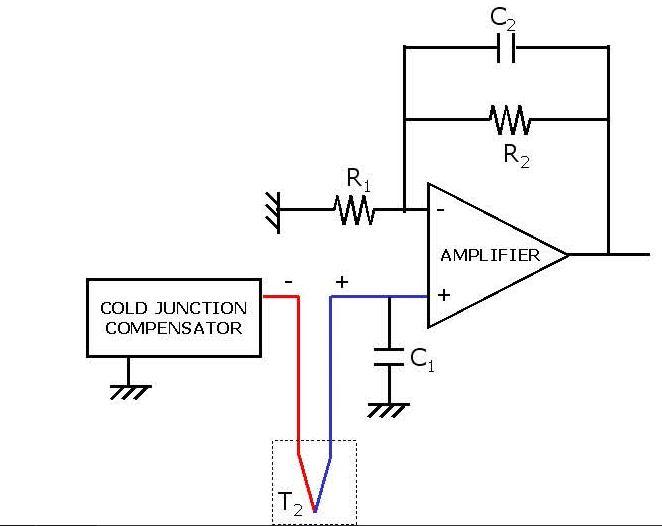 Prinsip kerja thermocouple instrument info elektro sebenarnya cold junction kompensator menghasilkan tegangan sebanding dengan tegangan termokopel antara 0 c dan suhu lingkungan yang dapat ditambahkan ccuart Images