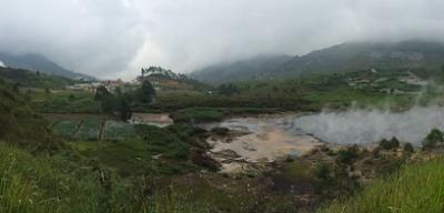 Travelling Dan Wisata Ke Kawah Sileri Dieng Plateu