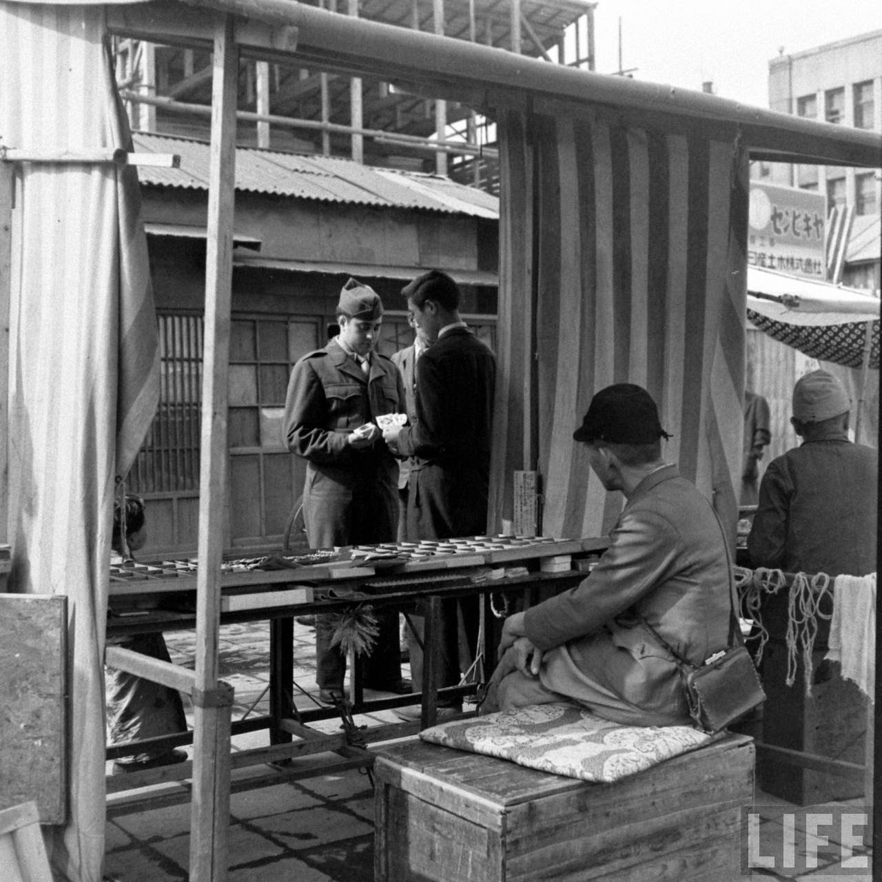 Pictures Of Black Market In Japan In 1946 Vintage Everyday