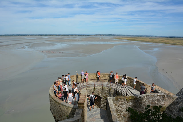 Views Mont Saint-Michel tower