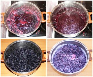 preparare dulceata de casa din fructe de padure, cum facem dulceata de afine, retete culinare,