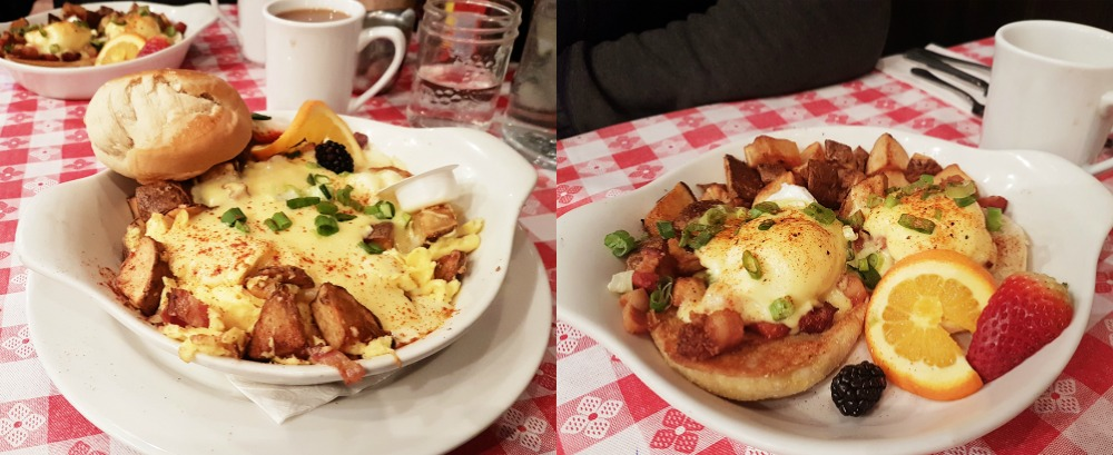 Things We Learned from Our Winter Getaway at -20 Degrees in Banff, Alberta - Breakfast at Tooloulou's