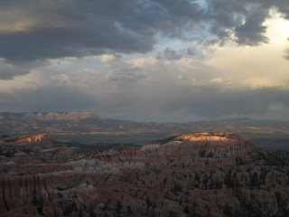 sunset, Bryce Canyon National Park