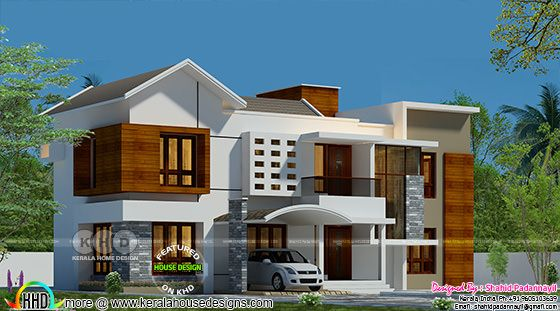 2674 square feet modern 4 bedroom home