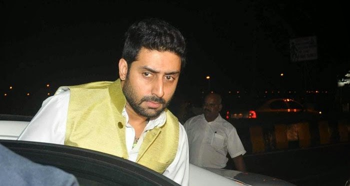 Abhishek Bachchan, Pics from Condolence Meeting of Late Filmmaker Ravi Chopra