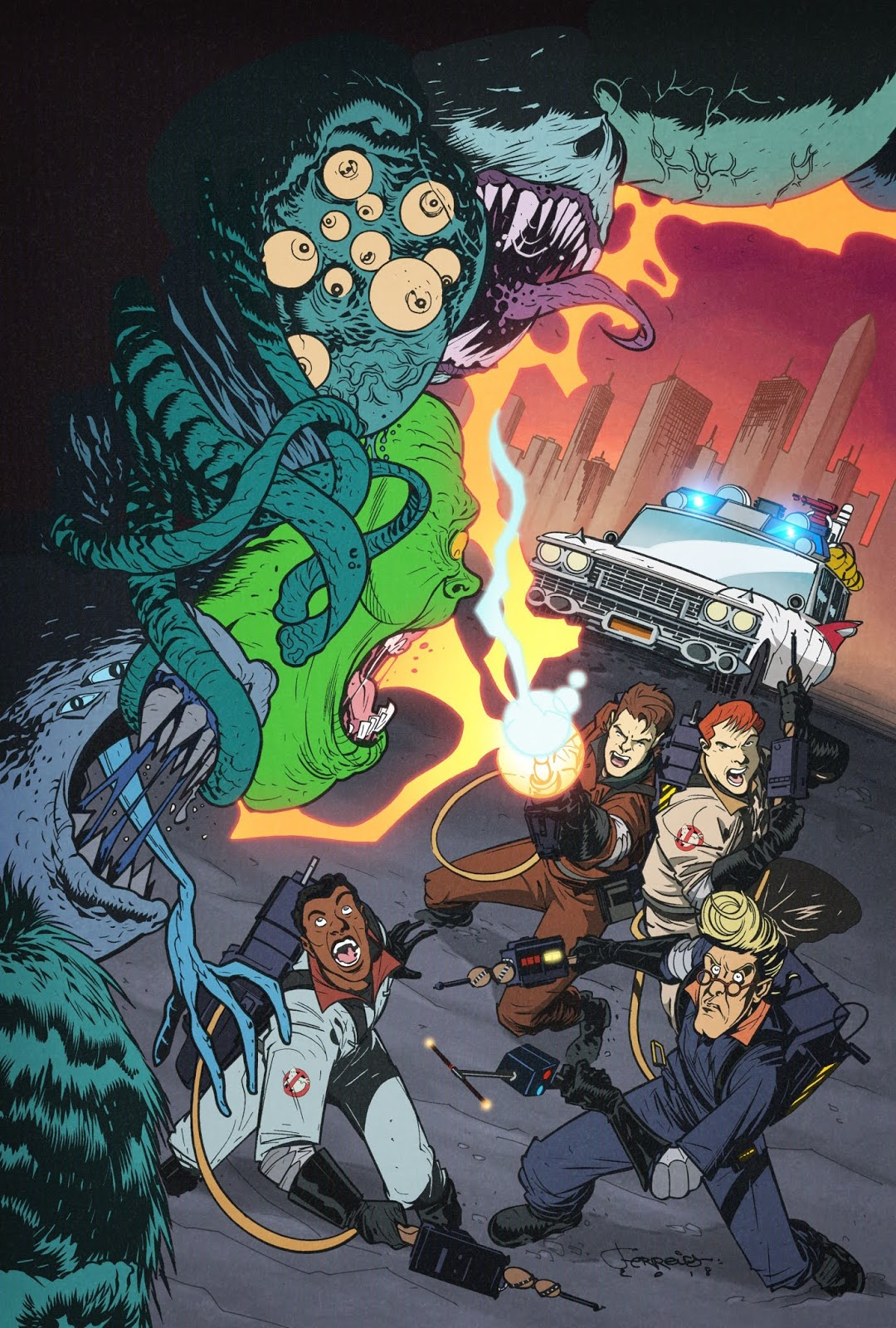 Ghostbusters 35th Anniversary comic