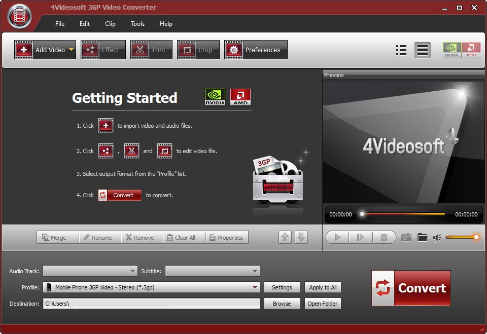 Download 4Videosoft 3GP Video Converter Crack