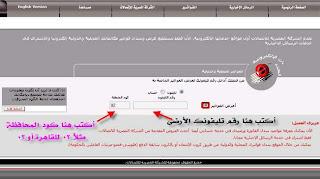 اعرف قيمة فاتورة التليفون الارضي اونلاين من الشركة المصرية للاتصالات