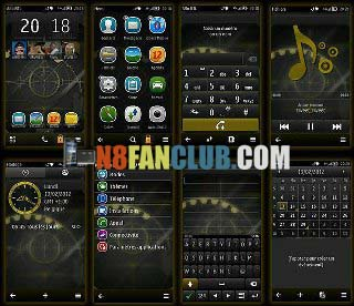 Super Cool Themes Pack 5 - Symbian Belle - Nokia N8 - Free Themes