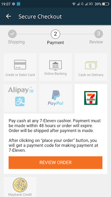 Lazada Apps and MOLPay Cash at 7 Eleven, molpay cash lazada, molpay 7 eleven, molpay 7 eleven malaysia bayar lazada di 7 eleven, molpay malaysia online payment gateway, cara pembayaran lazada di 7 eleven, hellopay 7 eleven lazada, cara pembayaran lazada malaysia, lazada apps, lazada malaysia,