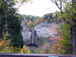 View of Taughannock Falls from the upper overlook