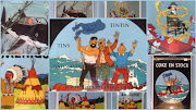 TINTIN TINS COMICS & CARS