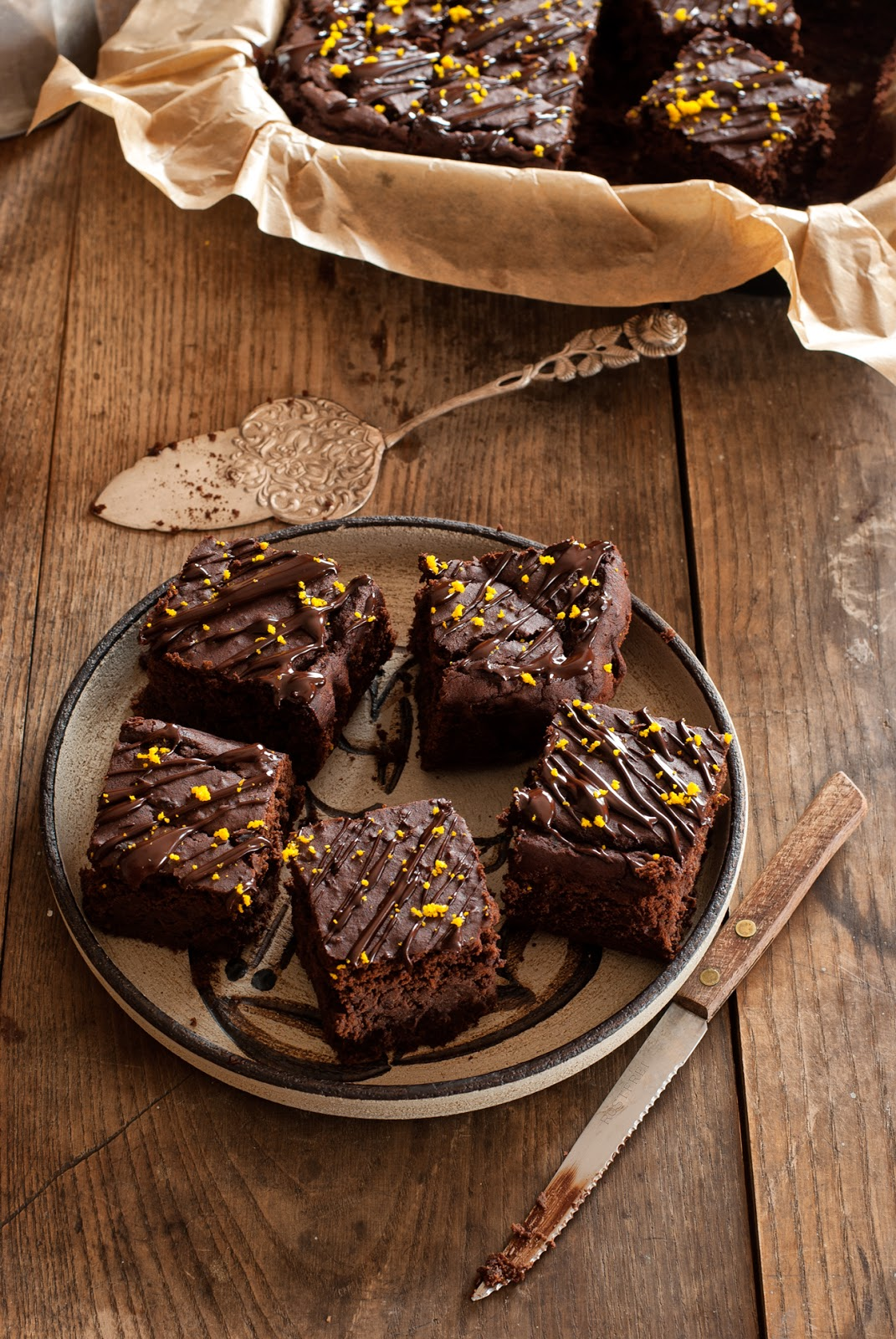 Ciasto czekoladowe z fasoli bezglutenowe