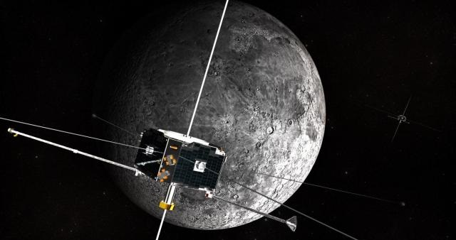NASA's ARTEMIS mission has two probes circling Earth's nearest celestial neighbor. They're gathering high-fidelity measurements of miniature shock waves taking place on the moon. UI physicist Jasper Halekas is the deputy principal investigator on the mission. Photo courtesy of NASA.