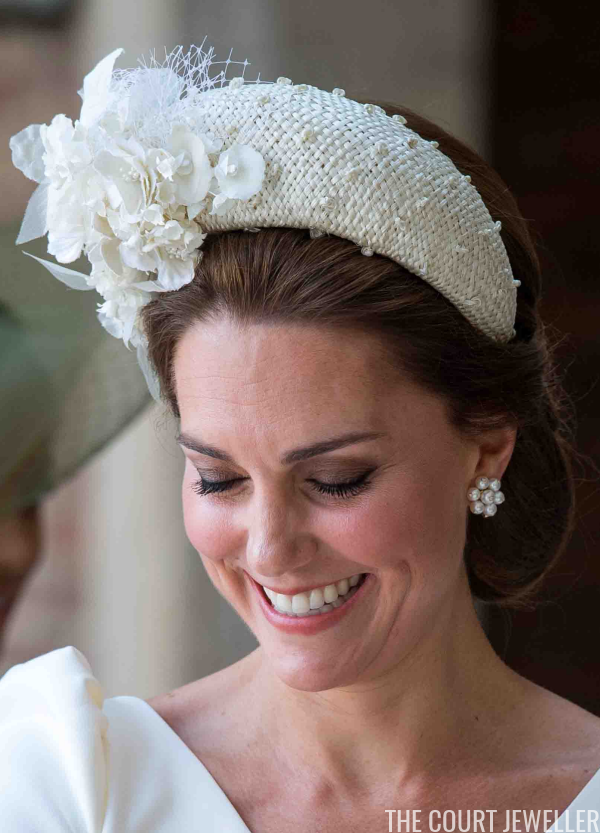 Royal Jewels At Prince Louis S Christening The Court
