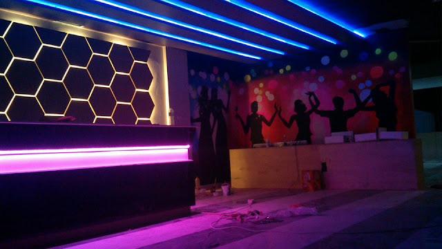 lukisan dinding karaoke
