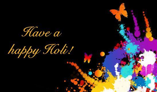 Happy Holi Greeting Card - Best Holi Shayari Images all time