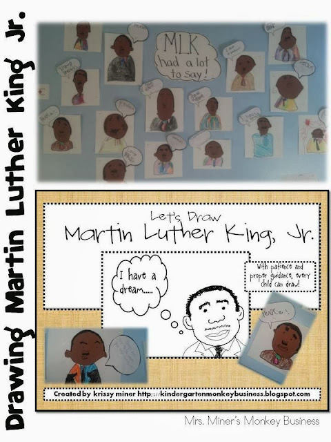 http://www.teacherspayteachers.com/Product/FREE-Martin-Luther-King-Directed-Drawing-469950