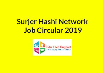 Surjer Hashi Network Job Circular 2019