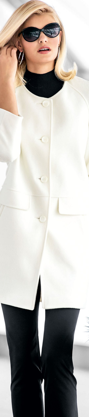 Madeleine White Coat