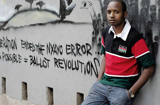 Boniface Mwangi Roasts Kenyans Crying To Him About Uhuru Kenyatta
