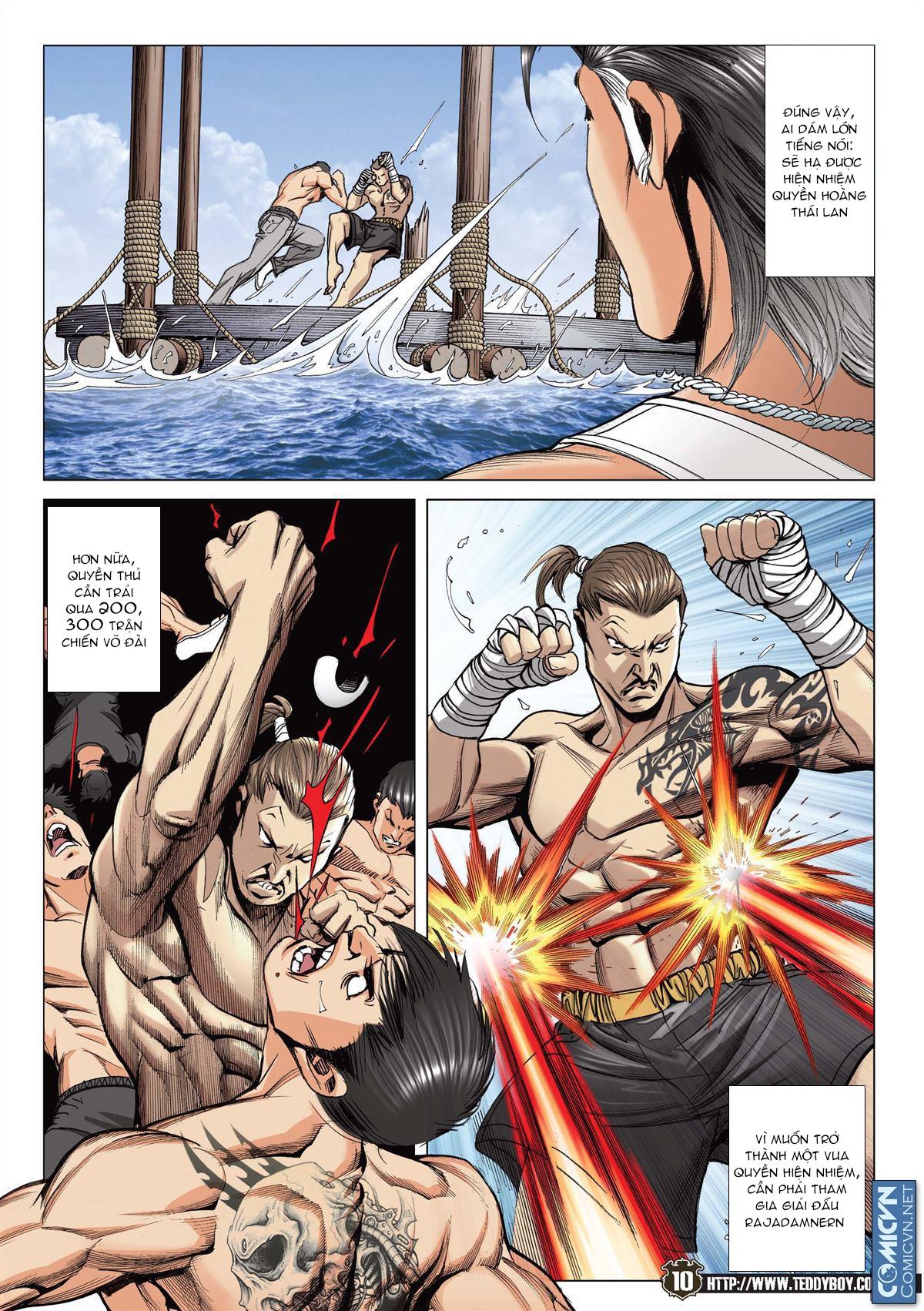 Người Trong Giang Hồ chapter 2143: ác chiến vua muay thai trang 8