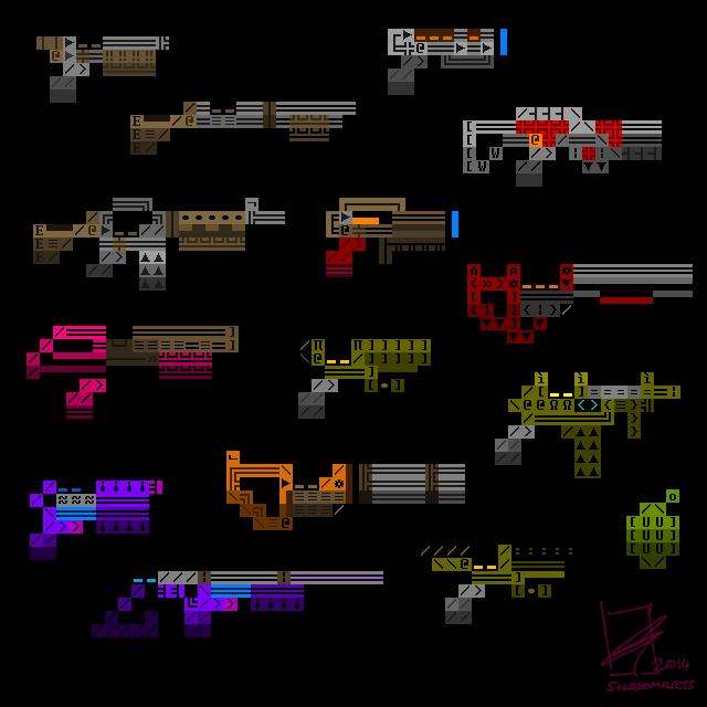 Ascii weapons
