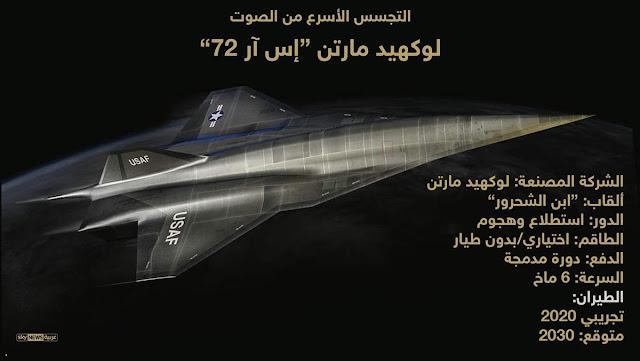 طائرة تجسس أسرع 6 مرات من سرعة الصوت