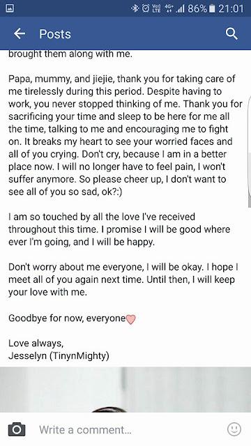 Banjir Air Mata Baca Status Facebook Guru Cantik yang Meninggal Karena Karena Dirongrong.....