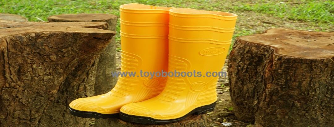TOYOBO BOOTS SAFETY EN12568 - YELLOW 712f45da28